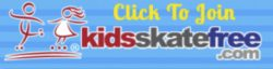 kids skate free button
